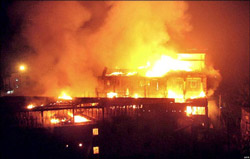 Deadly fire at KTS Textiles, February 23, 2006